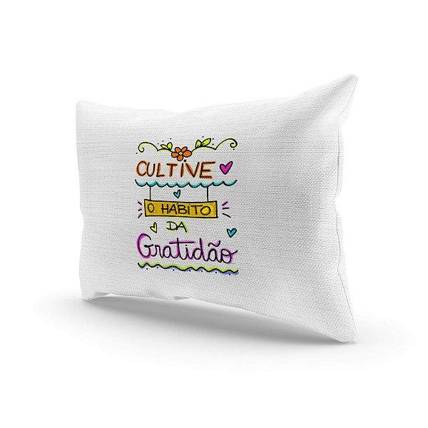 Almofada Decorativa - Cultive gratidão