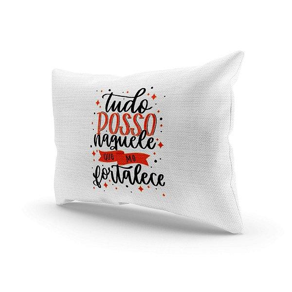 Almofada Decorativa - Tudo posso