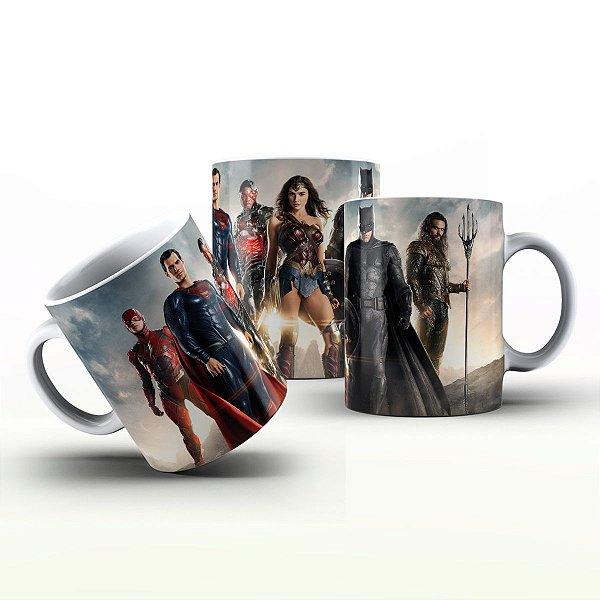 Caneca Personalizada Filmes  - Liga Da Justiça