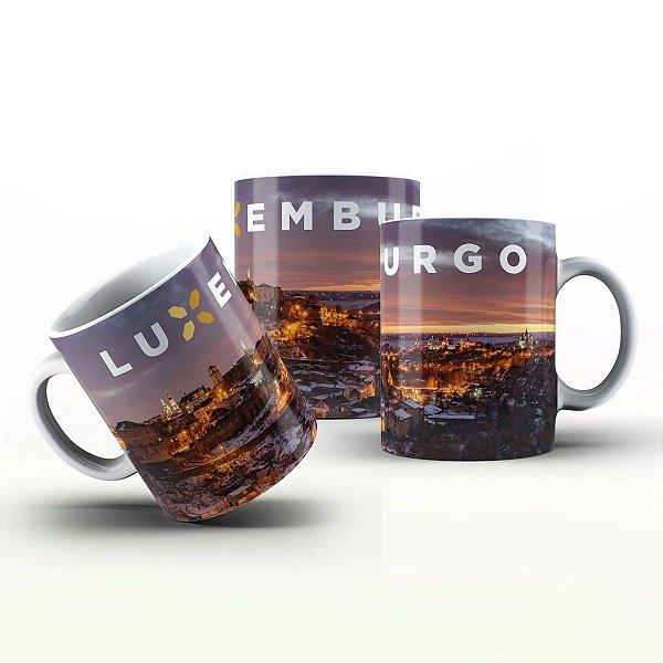 Caneca Personalizada Lugares   - Luxemburgo