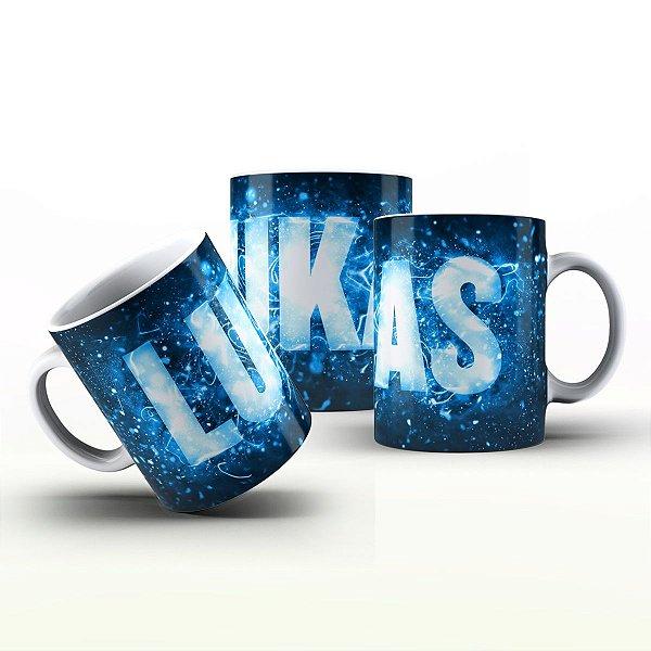 Caneca Personalizada X Tudo - Lukas