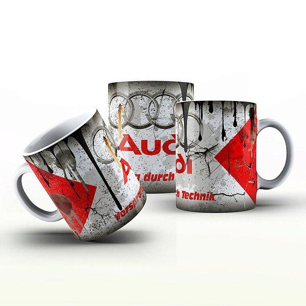 Caneca Personalizada Automóveis  - Audi