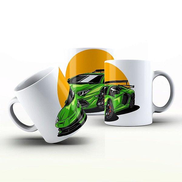 Caneca Personalizada Automóveis  - Lamborghini