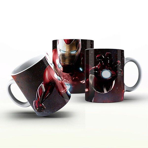 Caneca Personalizada Heróis  - Homem de Ferro Nas Galáxias