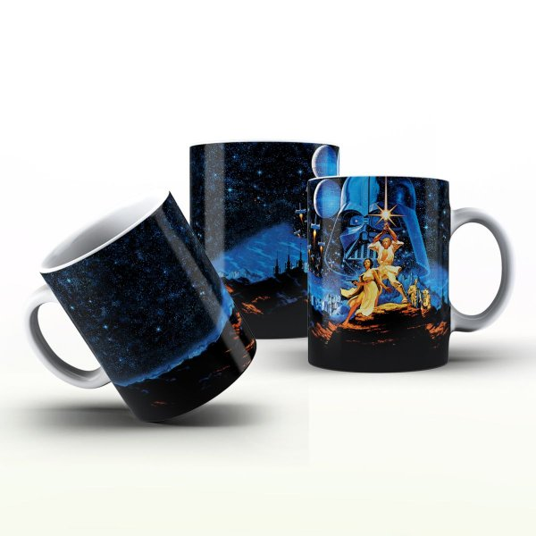 Caneca Personalizada Filmes  - Star Wars 3