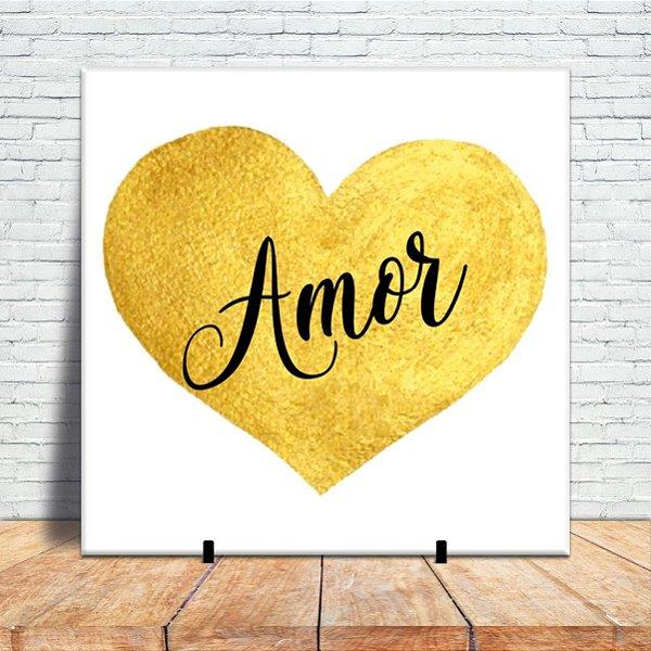 Azulejo Decorativo - Eu tenho amor
