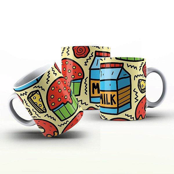 Caneca Personalizada Gourmet - CupCake