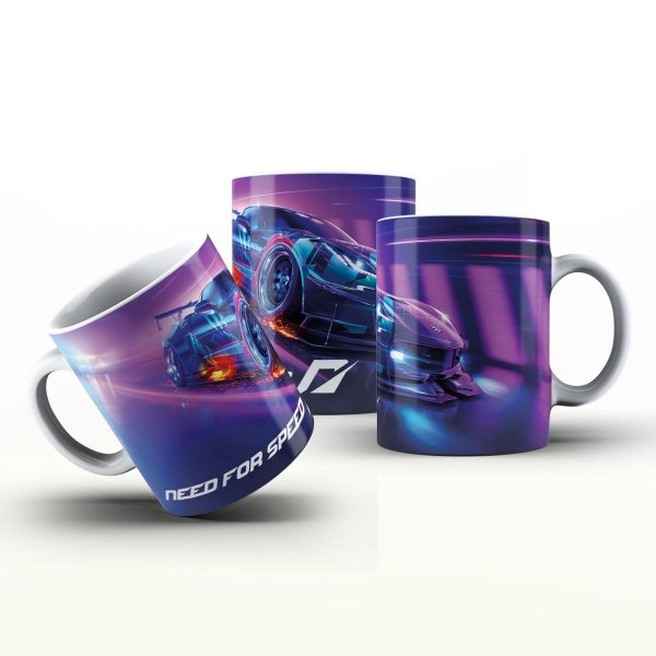 Caneca Personalizada Game - Need for Speed