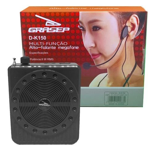Headset Megaphone D-K150