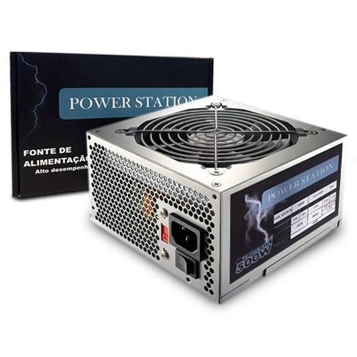 Fonte de Alimentação ATX Power Station 500W