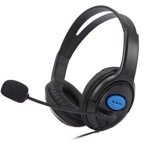 Headset com microfone para Ps4/Xbox-One