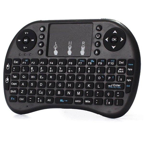 Mini teclado Wireless RGB, Tvbox/Pc/Tablet/Notebook