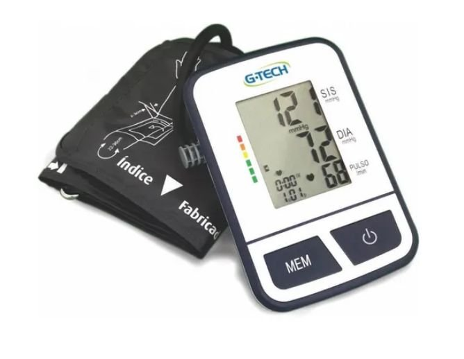 Aparelho medidor de pressão digital de braço