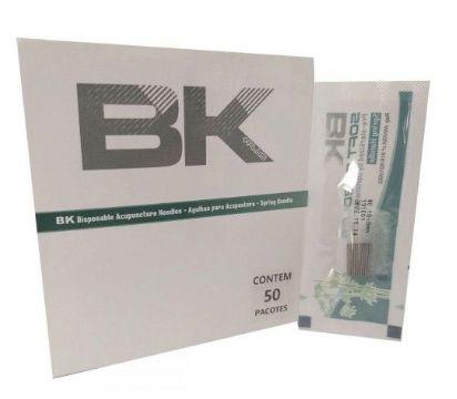 Agulhas de acupuntura BK - Caixa com 1000 und