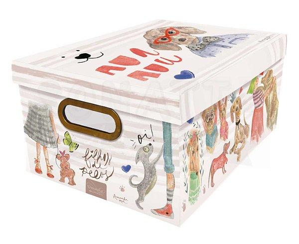 Caixa Organizadora Média Dello Cachorro 2214.01
