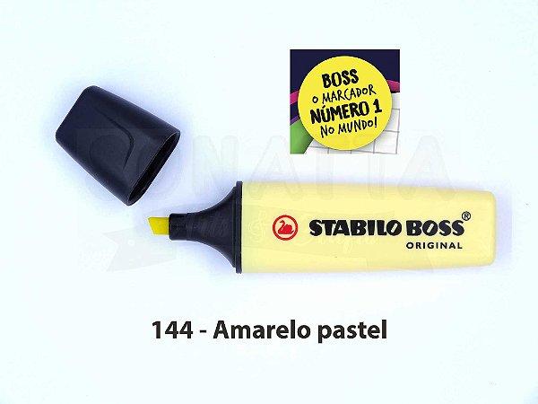 Marcador de Texto STABILO Boss Pastel - Amarelo 144