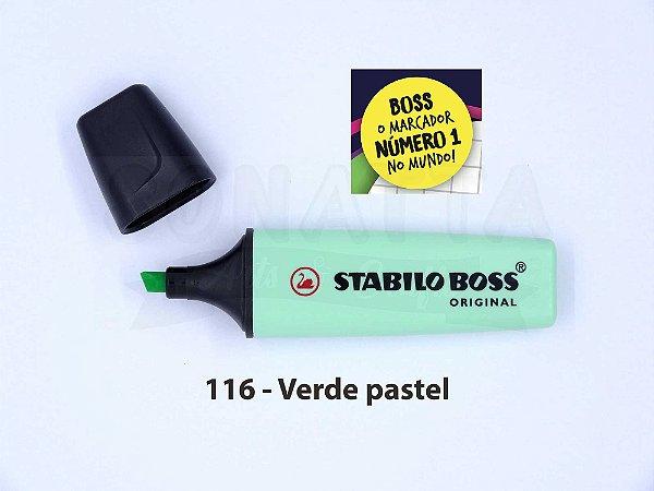 Marcador de Texto STABILO Boss Pastel - Verde 116
