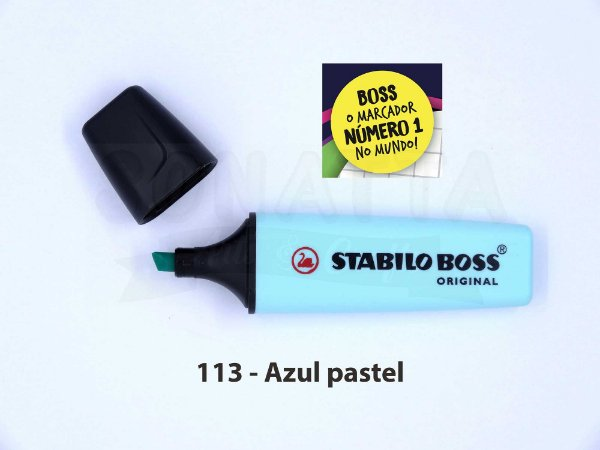 Marcador de Texto STABILO Boss Pastel - Azul 113