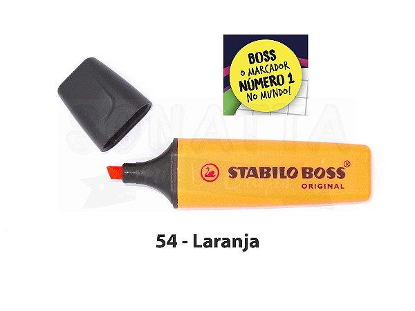 Marcador de Texto STABILO Boss Original - Laranja 54