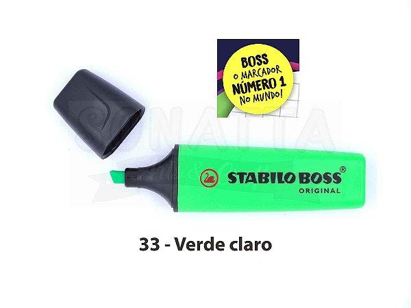 Marcador de Texto STABILO Boss Original - Verde Claro 33