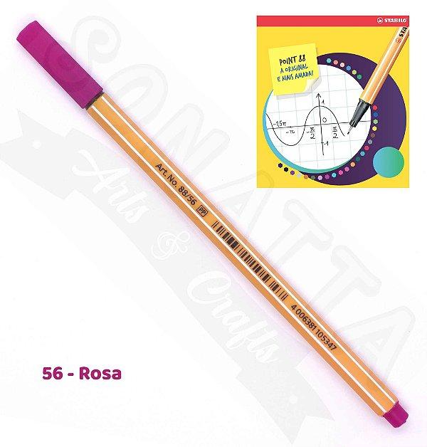 Caneta STABILO Point 88 - Rosa 56