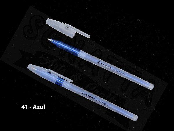 Caneta Esferográfica STABILO Liner 808M - Azul 41