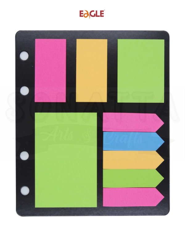 Sticky Notes (Bloco Adesivo) EAGLE Tons Neon - 612NS
