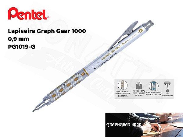 Lapiseira PENTEL GraphGear 0,9mm - PG1019