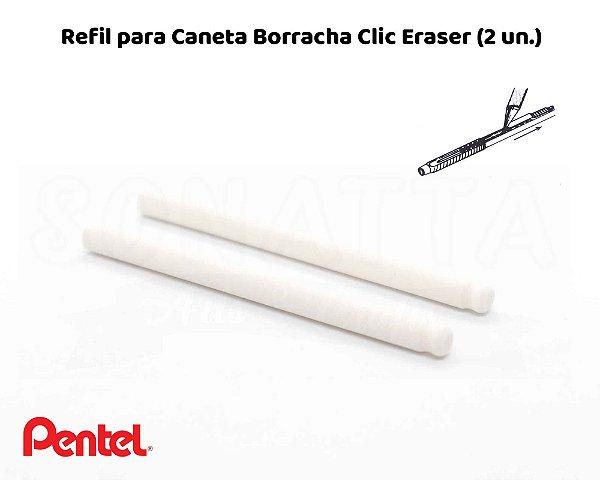 Refil Borracha PENTEL Clic Eraser – ZER-2