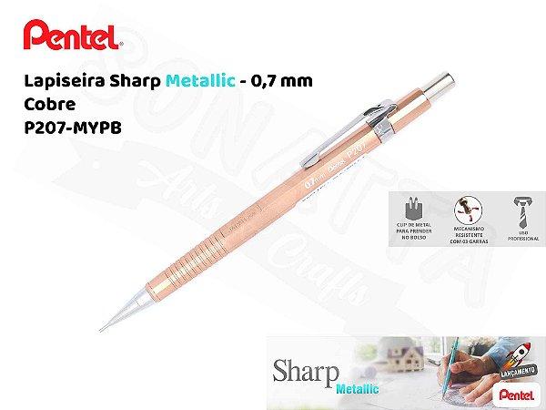 Lapiseira PENTEL Sharp Metallic Cobre 0.7mm – P207-MYPB