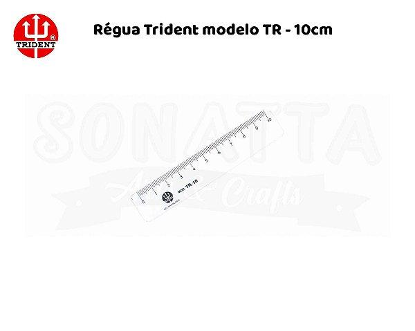 Régua TRIDENT 10 cm – TR10