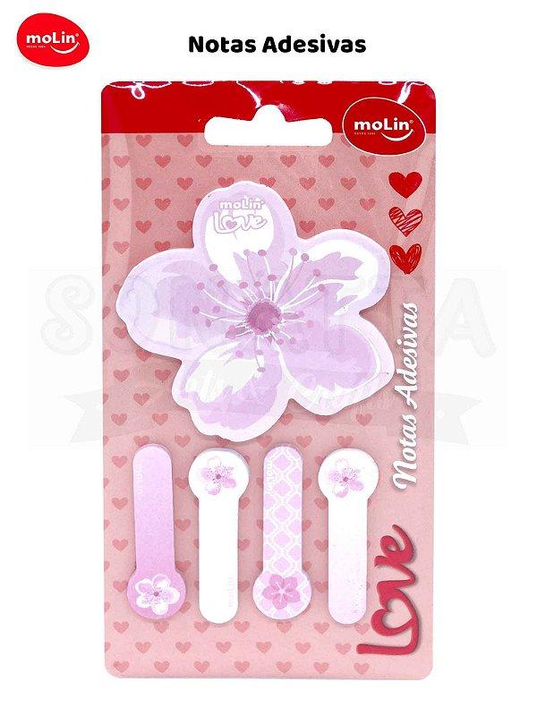 Bloco de Notas Adesivas MOLIN Special Flowers com 125 - 23364