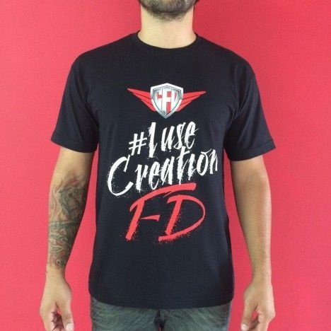 Camiseta #iUseCreationFD
