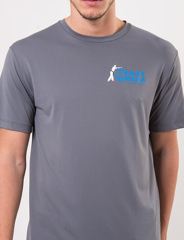 Camisa Poliamida 100% Israel - Cinza