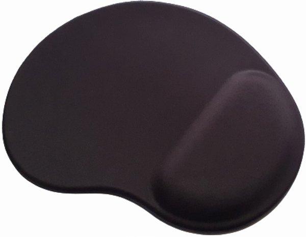 100pçs - Mouse Pad Ergonômico Gota Tecido Preto