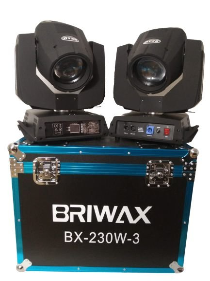 Moving Beam 230w 7R bx230-3 - Par no Case