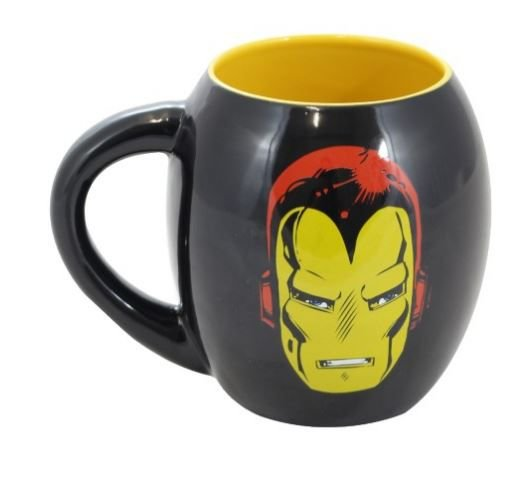 Caneca Oval Homem De Ferro Marvel