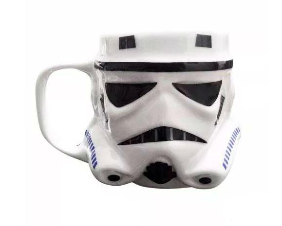 Caneca Stormtrooper Star Wars Porcelana