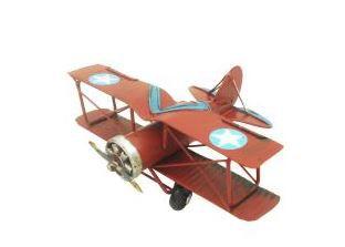Avião Estrela Retro 16 cm