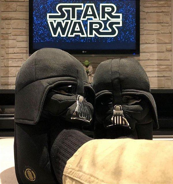 Pantufa Darth Vader 3D
