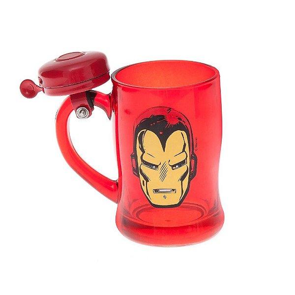 Caneco Campainha Homem de Ferro Marvel