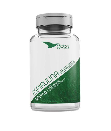 Espirulina 500 mg 120 caps