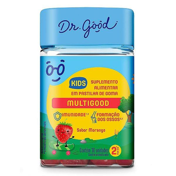 Dr good multigood kids morango 30 gomas