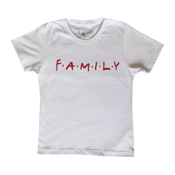 Camiseta Vamvaki Infantil Red Family