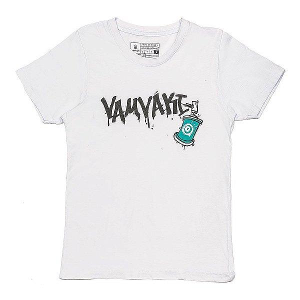 Camiseta Vamvaki Infantil Grafite
