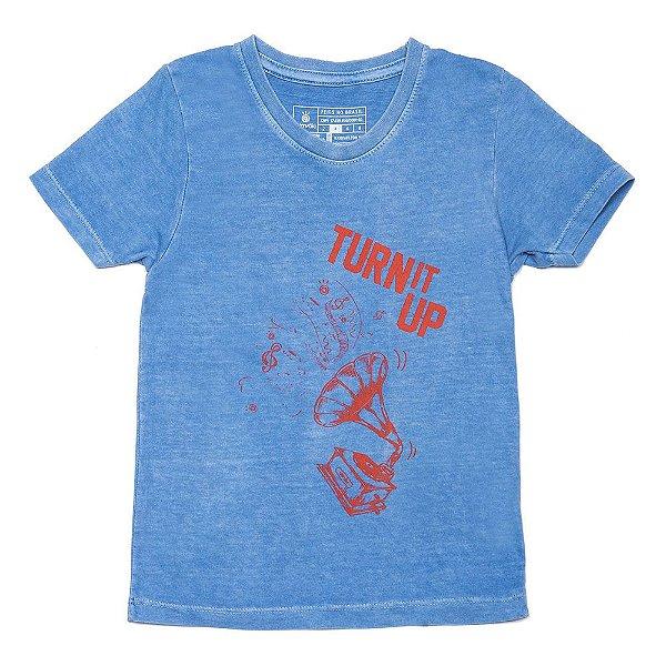 Camiseta Vamvaki Infantil Turn It Up