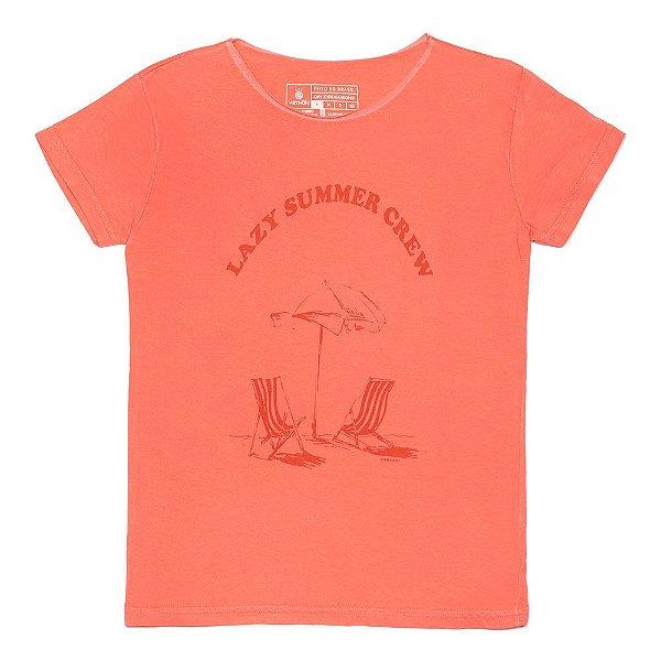 Camiseta Vamvaki Feminina Lazy