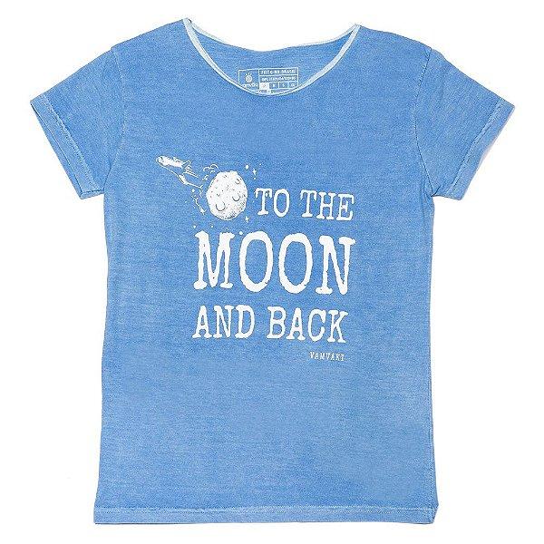 Camiseta Vamvaki Feminina Moon