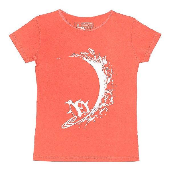 Camiseta Vamvaki Feminina Penguin