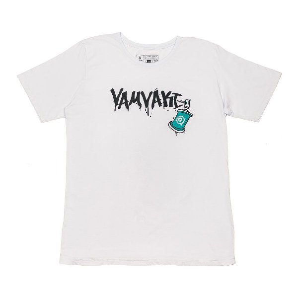 Camiseta Vamvaki Masculina Grafite